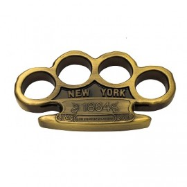 1864 New York Metro Police Reinforced Aluminum Knuckles