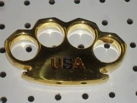 Dalton 15 Ounce USA Real Brass Knuckles