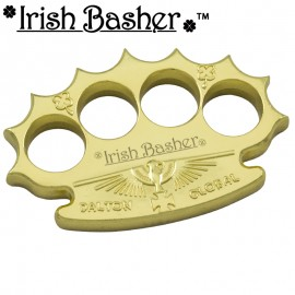 Irish Basher Robbie Dalton Chrome Global Heavy Knuckle Paperweights