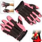Takedown Extra Large Pink Full Finger Steel Shot Knuckles Sap Gloves