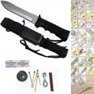 jungle king hunting survival knife h007